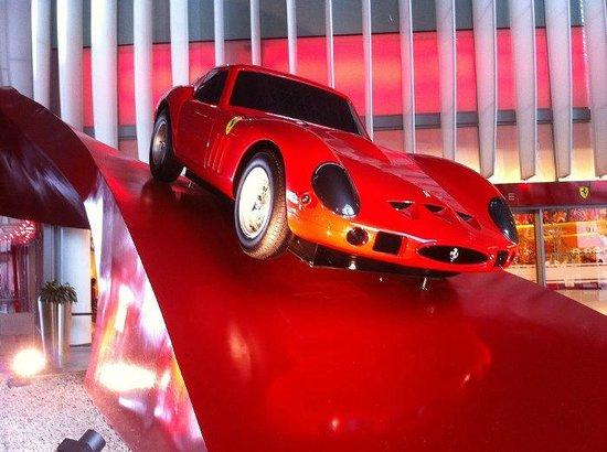 Ferrari World Abu Dhabi: La 250 GTO esposta