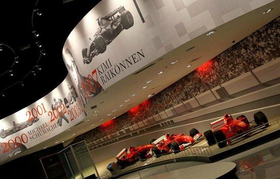 Ferrari World Abu Dhabi: ...aria Ferrari