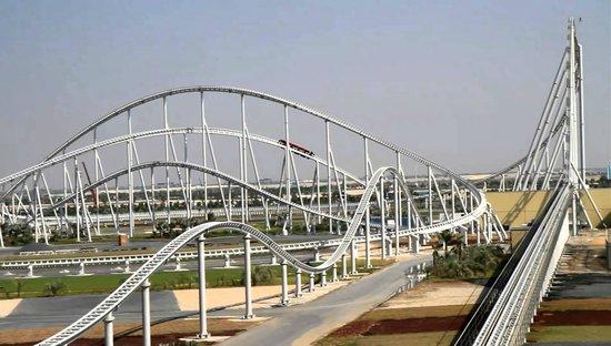 Ferrari World Abu Dhabi: ...adrenalina pura !