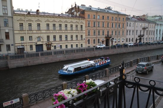 Pushka Inn Hotel: a room with a view