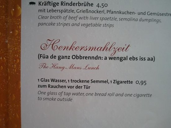 "Airbräu Brauhaus: They actually sell this ""dish"""