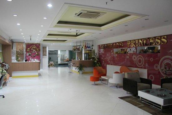 Lane Xang Princess Hotel: ホテルのロビー