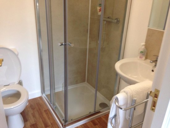 Ardross and Glencairn Guesthouse: Immaculate bathroom