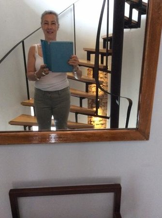 I'zaz Lofts: Stairway and happy me!