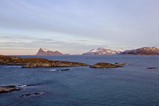 Sommaroy Arctic Hotel Tromso: góry
