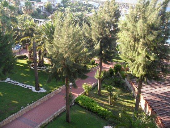 Ersan Resort & Spa: VUE DE LA CHAMBRE