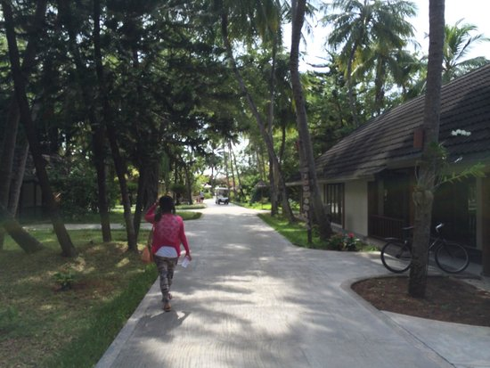 Paradise Island Resort & Spa: Outlook of the Villa