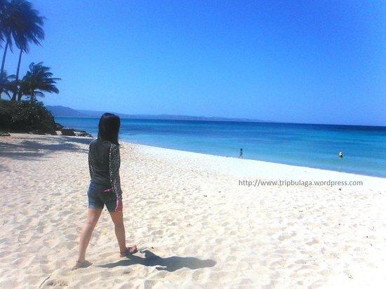 Saud Beach : white sand!
