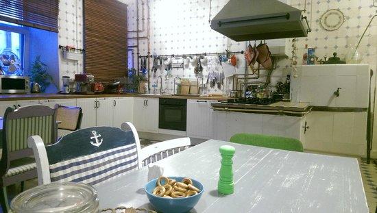 Soul Kitchen Junior Hostel: чудесная кухня