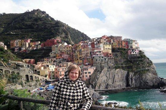 Parco Nazionale Cinque Terre: Манарола, Италия