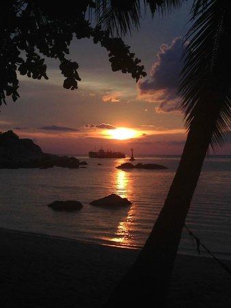 Koh Tao Royal Resort : закат