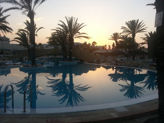 Houda Golf and Beach Club : Beautiful sunsets