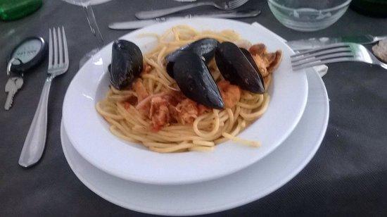 Hotel San Leo: Spaghetti allo scoglio