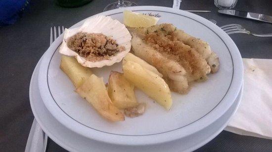 Hotel San Leo: Ottimo secondo piatto di pesce