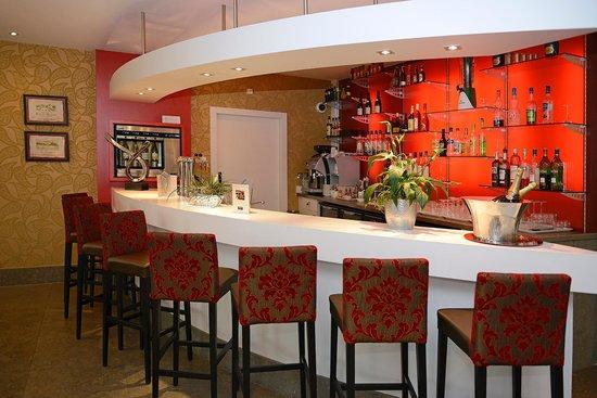 bar lounge picture of kyriad prestige spa lyon est saint priest eurexpo saint priest. Black Bedroom Furniture Sets. Home Design Ideas