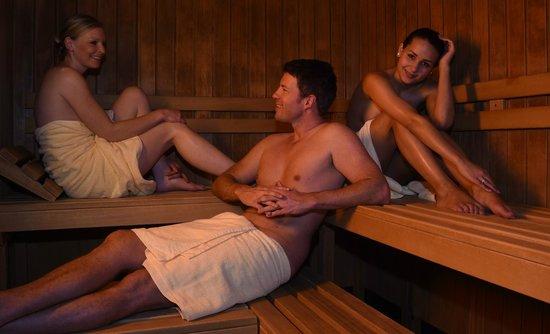 Krone Igelsberg: Gemütliche Sauna