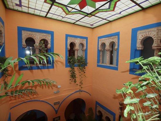 Hosteria Lineros 38 : Innenhof im renovierten Teil des Gebäudes