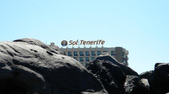 Sol Tenerife : Vista dalla spiaggia