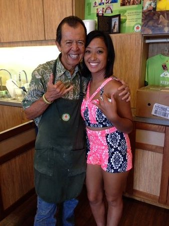 Uncle Clay's House of Pure Aloha: Uncle Clay is the nicest guy you'll ever meet!  Thank you, Uncle, for welcoming us into your oha