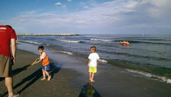 Camping Ca' Savio: sea
