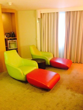 Novotel Manchester Centre: Executive lounge