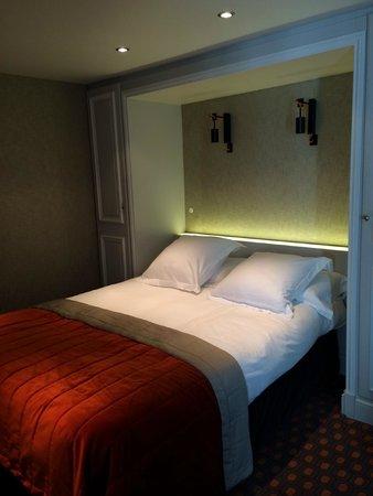 Bourgogne et Montana Hotel by MH: La Parisienne: bonne literie