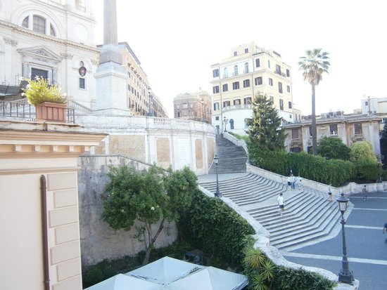 Piazza di Spagna View : View from the window