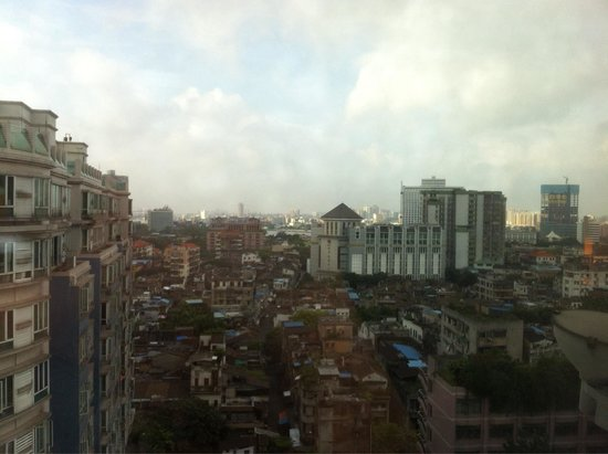 Holiday Inn Shifu Guangzhou: View from room