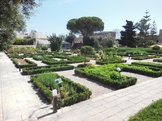 San Anton Gardens: a herb garden