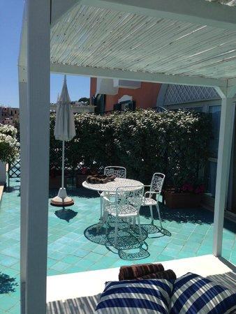 Miramare e Castello Hotel: terrazza camera