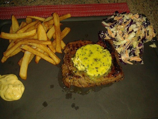 Warwick Wine Estate: the steak which can only be described as heavenly