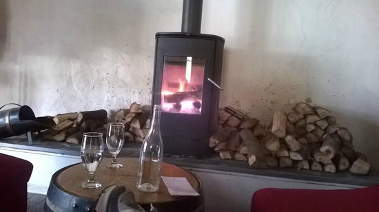 Warwick Wine Estate: Fire to warm the heart