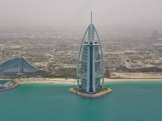 El hotel burj al arab veis la cruz fotograf a de fly for El arab hotel dubai