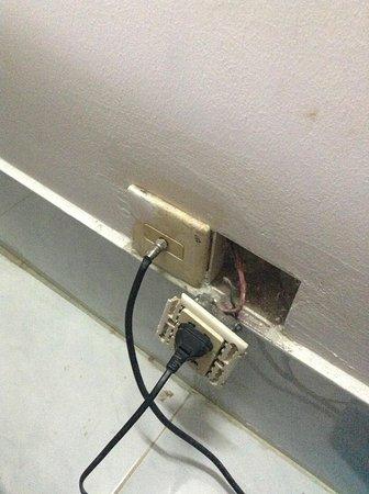 Home Sweet Home: Broken Electrical Socket