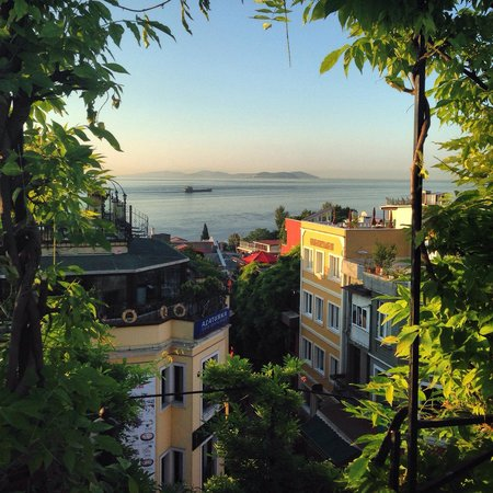 Hotel Empress Zoe: View from rooftop terrace