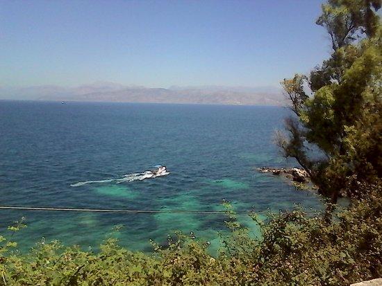 Kassiopi Bay: sea view!