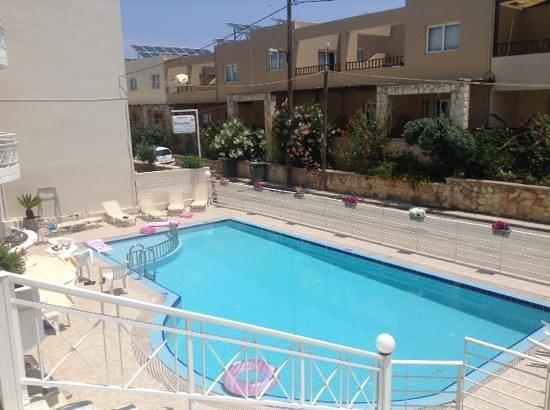 Anna Maria Hotel: Hotel pool area