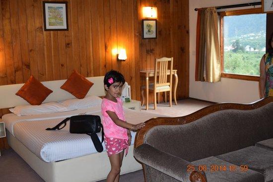 Honeymoon Inn Manali: Room