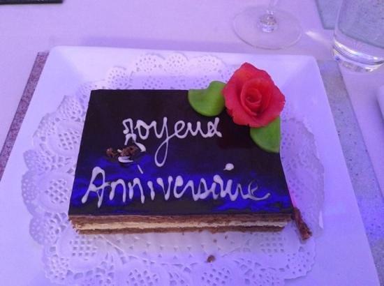 Hotel Riu Palace Tikida Agadir: birthday cake for daughters 18th x