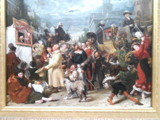 Tate Britain: Various Art.