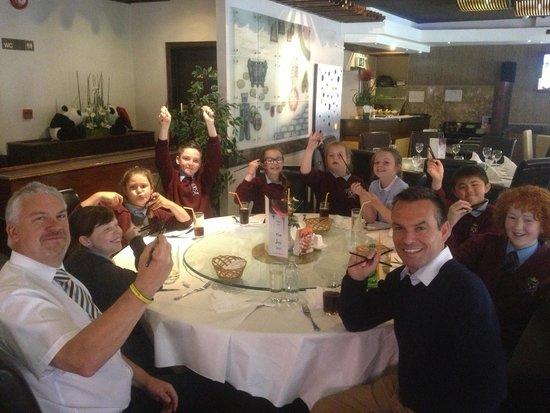 Joy Inn Restaurant : Lunch Party !