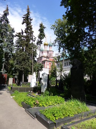 Novodevichy (New Maiden) Convent and Cemetery: cimetière