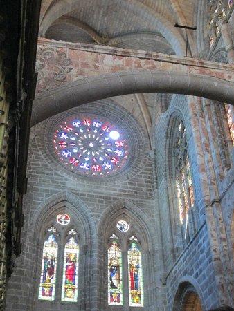 Catedral de Ávila: roseton
