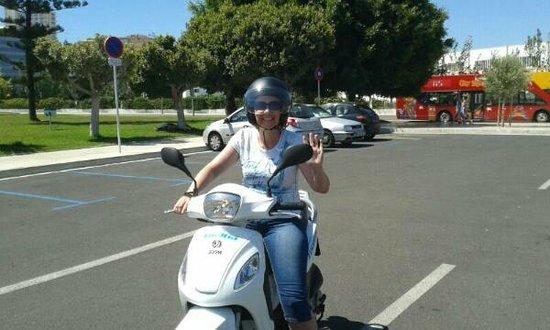 Cooltra: im Hafen von Palma :-)