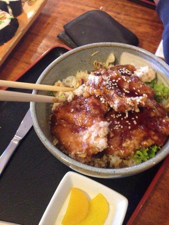 Yamato Japanese Restaurant: Chicken Teriyaki.