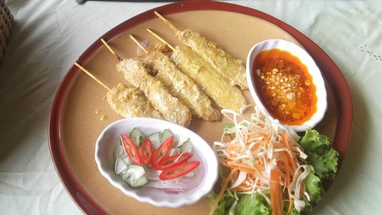 Sugar and Spice - Casa del Sol Kata Beach : Chicken satay