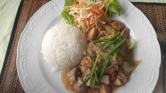 Sugar and Spice - Casa del Sol Kata Beach : Stir fry ginger beef