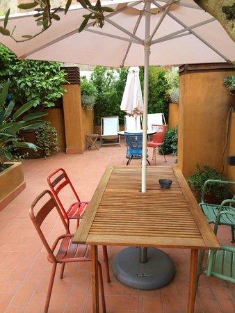 Casa Bella Gracia : la terrasse