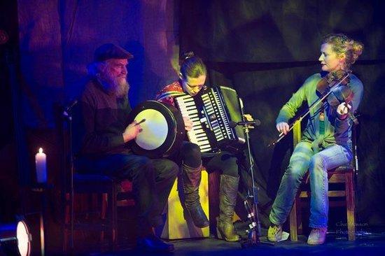An Grianan Hotel: musicians