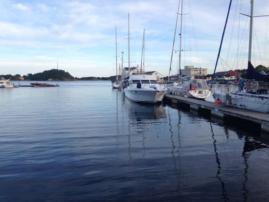 Scandic Grimstad : The picturesque harbour, 5 minutes walk from the hotel